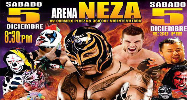 Lucha Libre Aaa Worldwide Cierra El 2015 En La Arena Neza The