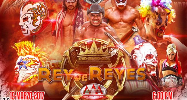 Listo El Cartel Rey De Reyes 2017 The Gladiatores Lucha Libre